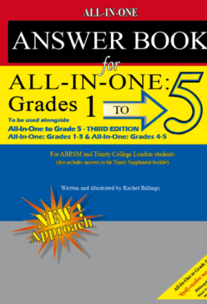 ALL IN ONE Answer Book Grade 1 to 5
