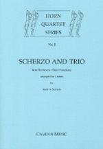 SCHERZO AND TRIO (score & parts)