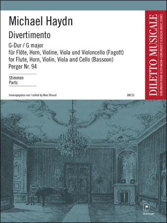 DIVERTIMENTO in G major (set of parts)