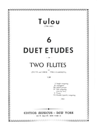 SIX DUET ETUDES