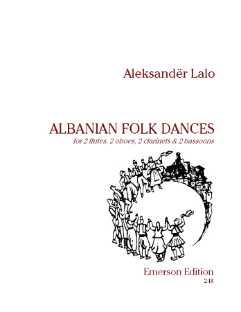 ALBANIAN FOLK DANCES (score & parts)