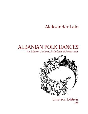 ALBANIAN FOLK DANCES (score & parts)