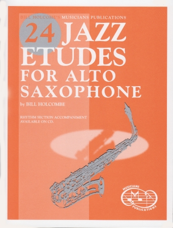 24 JAZZ ETUDES for Alto Saxophone