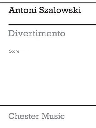 DIVERTIMENTO (miniature score)
