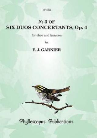 SIX DUOS CONCERTANTS Op.4/3