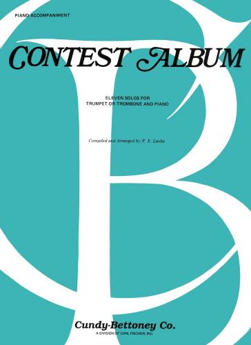 CONTEST ALBUM Piano Accompaniment (for trumpet & trombone)