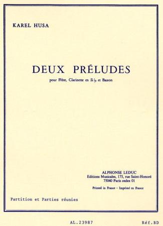 DEUX PRELUDES score & parts