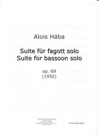 SUITE Op.69 (1950)