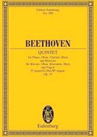 QUINTET in Eb Op.16 miniature score