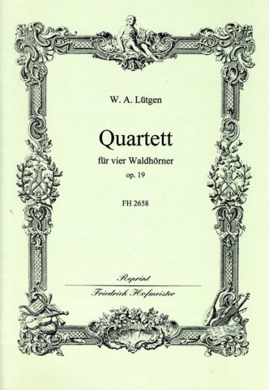 QUARTET Op.19 (score & parts)