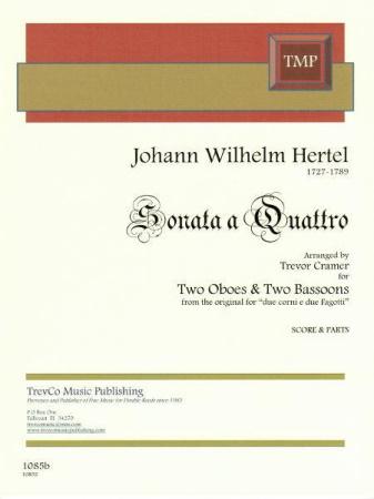SONATA A QUATTRO (score and parts)