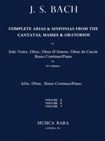 COMPLETE ARIAS & SINFONIAS Oboe: Volume 5