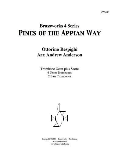 PINES OF THE APPIAN WAY (score & parts)