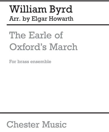 THE EARLE OF OXFORDE'S MARCH (JB26) (score & parts)