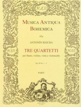 THREE QUARTETS Op.98 (set of parts)