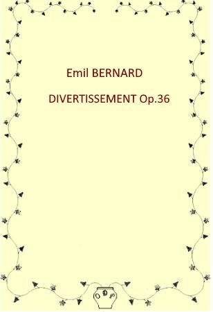 DIVERTISSEMENT Op.36 (score & parts)