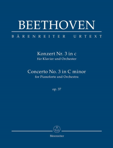 PIANO CONCERTO No.3 in C minor Op.37 (study score)