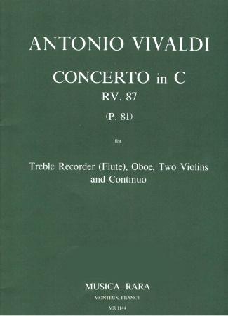 CONCERTO in C RV87 (P81)