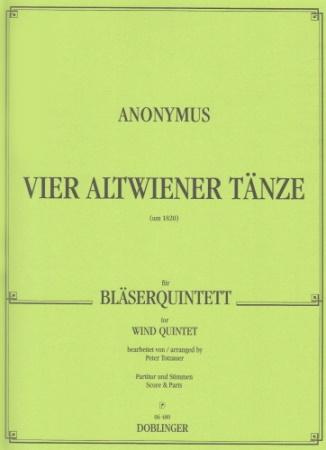 FOUR OLD VIENNESE DANCES score & parts