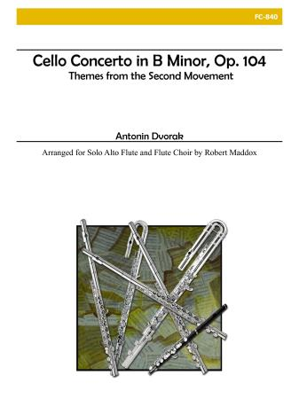 CELLO CONCERTO in B minor, Op.104