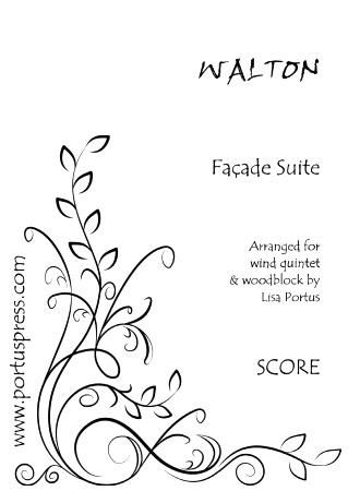 FACADE SUITE (score & parts)