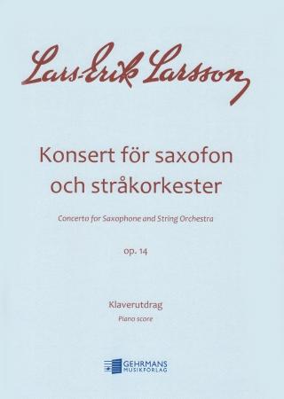 SAXOPHONE CONCERTO Op.14