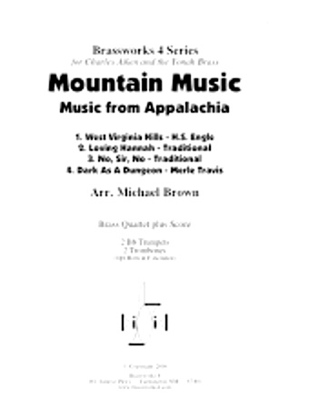 MOUNTAIN MUSIC (Music from Appalachia)