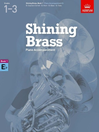 SHINING BRASS Book 1 Piano Accompaniment (Eb Instruments)