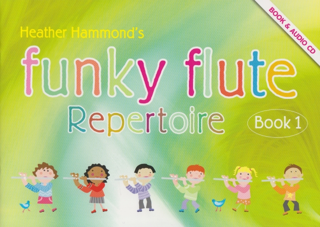 FUNKY FLUTE Repertoire Book 1 + Online Downloads
