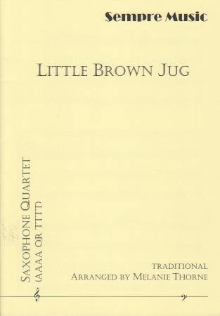 LITTLE BROWN JUG (score & parts)