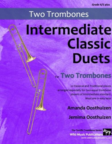 INTERMEDIATE CLASSIC DUETS for Two Trombones