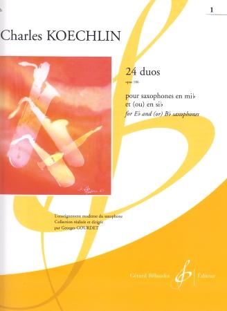 24 DUOS Op.186 Volume 1