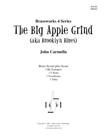 THE BIG APPLE GRIND (aka Brooklyn Blues)