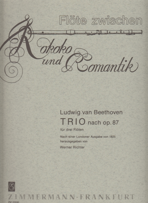 TRIO from Op.87 (set of parts)