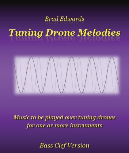 TUNING DRONE MELODIES (bass clef)