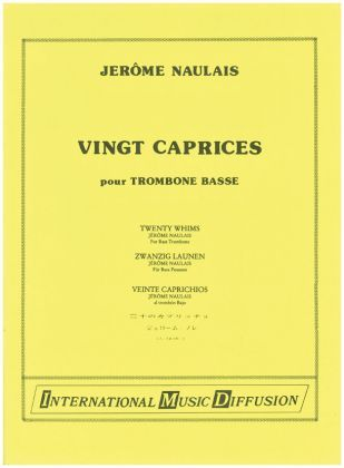 20 CAPRICES for Bass Trombone