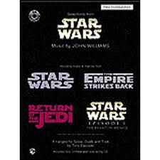 STAR WARS Selections + CD piano accompaniment