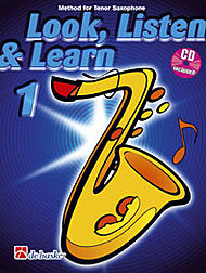 LOOK, LISTEN & LEARN Book 1 + CD (tenor)