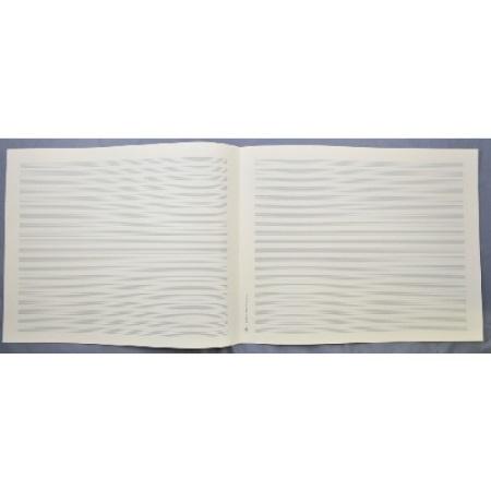 LANDSCAPE MANUSCRIPT PAPER 20 staves, Quarto size