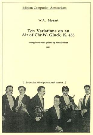 TEN VARIATIONS ON AN AIR BY GLUCK K455