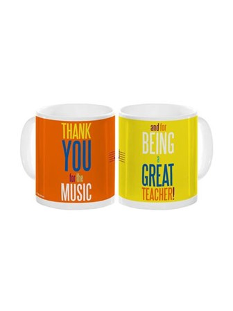 MUG Teacher Thank You For the Music