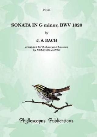 SONATA in G minor BWV 1020 (score & parts)