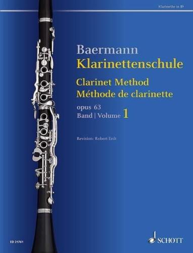 CLARINET METHOD Op.63 Volume 1