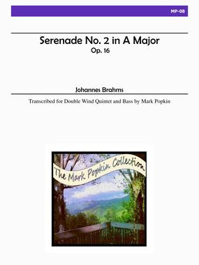 SERENADE No.2 in A major Op.16 (score & parts)