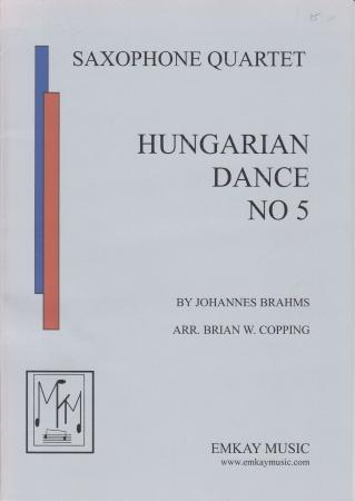 HUNGARIAN DANCE No.5 score & parts