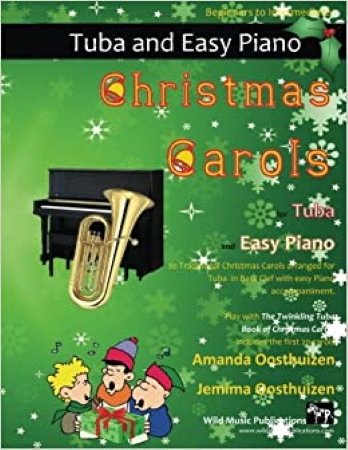 CHRISTMAS CAROLS for Tuba & Easy Piano