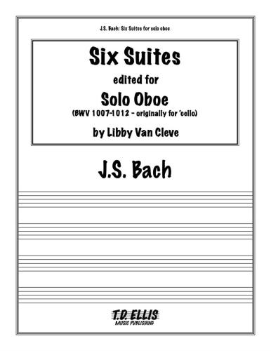 SIX SUITES BWV 1007-1012