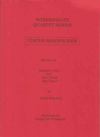 CIRCUS SAXOPHONES (score & parts)