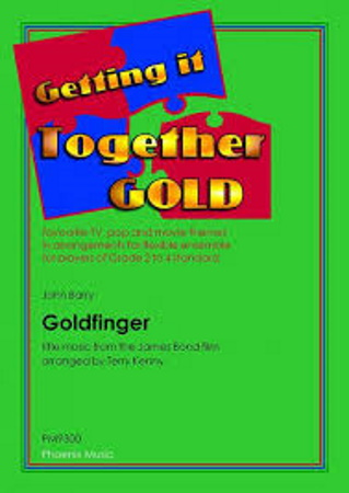 GOLDFINGER Title Theme (score & parts)