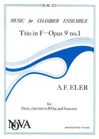 TRIO in F major Op.9 No.1 (set of parts)